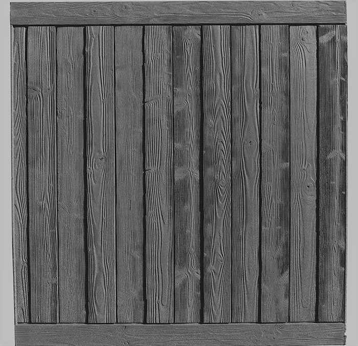 Ashland 6' tall privacy fence panel