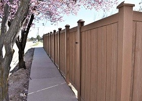 8'Tall Ashland Privacy Fence