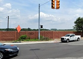 Desert Granite 8 Foot Tall Sound Wall Ford Motor Company