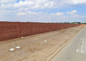 Desert Granite 8 Foot Tall Sound Wall for Ford Motor Company Fence Project