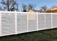 White Palm Beach Fence