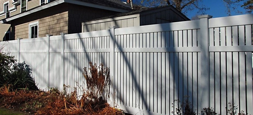 Bel Air Vinyl Pool Fence